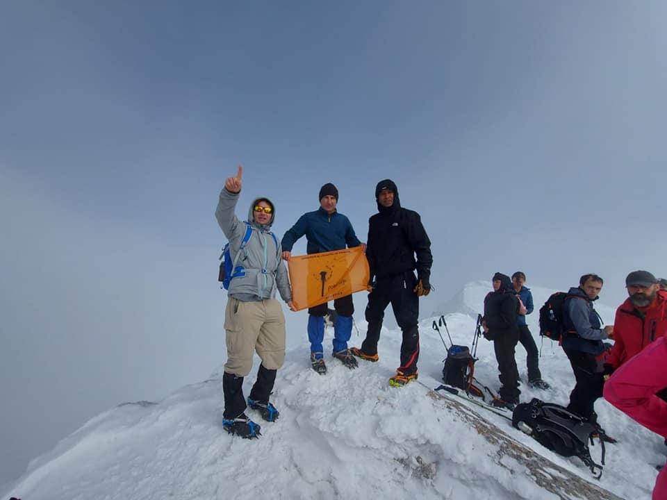 Zimski uspon na vrhove Durmitora